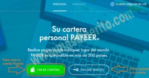 Crear y verificar su cuenta Payeer