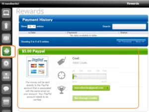 Recibir dinero por paypal desde internet